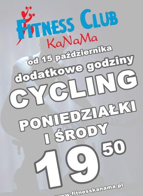 dodatkowe zajęcia cycling