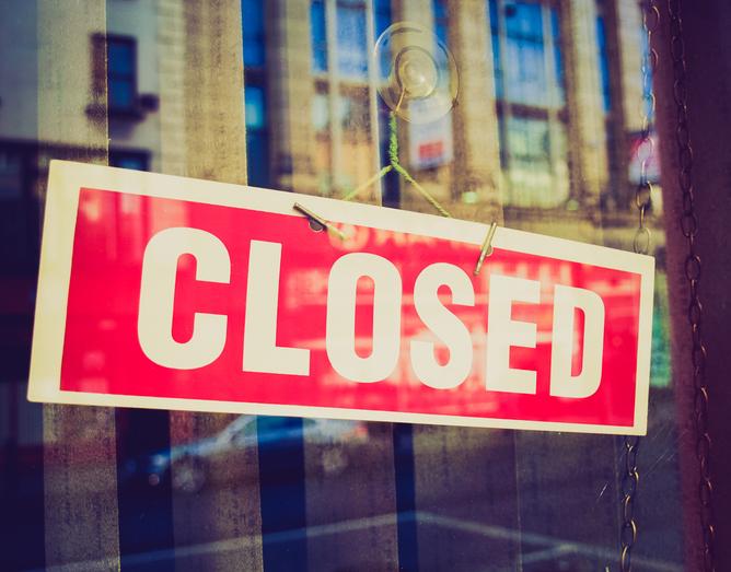 Zamknięcie klubu!