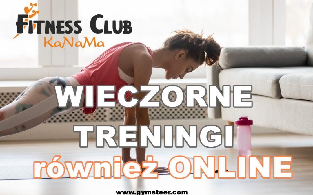 wieczorne treningi aero również online!